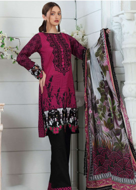 Al Zohaib Embroidered Lawn Unstitched 3 Piece Suit AZ19SA PR-04 - Spring / Summer Collection