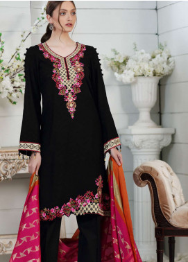 Al Zohaib Embroidered Jacquard Unstitched 3 Piece Suit AZ19SA PR-09 - Spring / Summer Collection