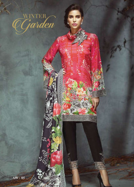 Anaya by Kiran Chaudhry Embroidered Viscose Unstitched 3 Piece Suit AL17W 05