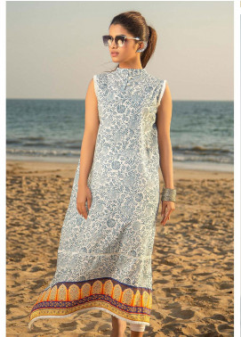 Ala Rasi Printed Lawn Unstitched Kurties AR20L 01 ETHINIC - Summer Collection