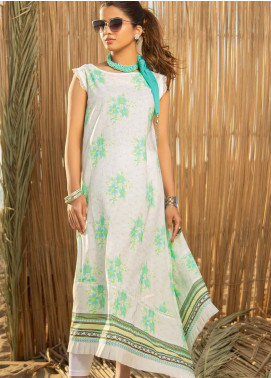 Ala Rasi Printed Lawn Unstitched Kurties AR20L 02 FLORESCENT - Summer Collection