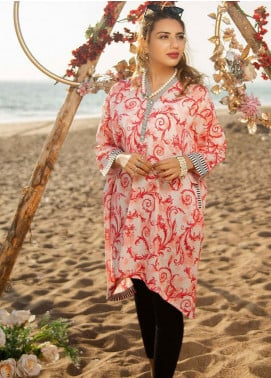 Ala Rasi Printed Lawn Unstitched Kurties AR20L 03 EYE CANDY - Summer Collection