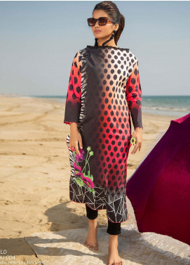 Ala Rasi Printed Lawn Unstitched Kurties AR20L 04 WILD - Summer Collection