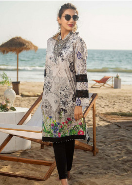 Ala Rasi Printed Lawn Unstitched Kurties AR20L 07 DYNASTY - Summer Collection