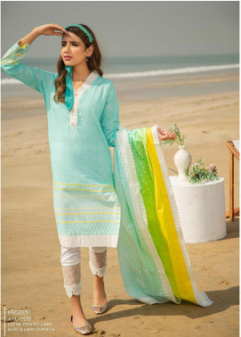 Ala Rasi Printed Lawn Unstitched 2 Piece Suits AR20L 08 FROZEN - Summer Collection
