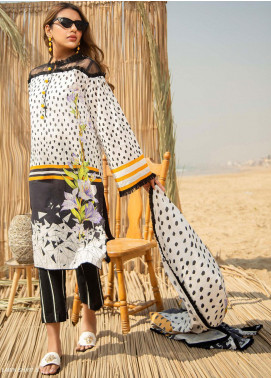 Ala Rasi Printed Lawn Unstitched 2 Piece Suits AR20L 09 CHARIZMA - Summer Collection