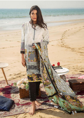 Ala Rasi Printed Lawn Unstitched 3 Piece Suits AR20L 11 RISING EMPIRE - Summer Collection