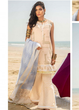 Ala Rasi Printed Lawn Unstitched 3 Piece Suits AR20L 19 SERENITY - Summer Collection