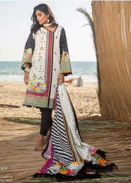 Ala Rasi Printed Lawn Unstitched 3 Piece Suits AR20L 22 BOTANICAL GARDEN - Summer Collection