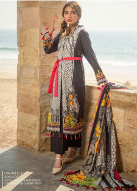 Ala Rasi Printed Lawn Unstitched 3 Piece Suits AR20L 25 DREAM GLOW - Summer Collection