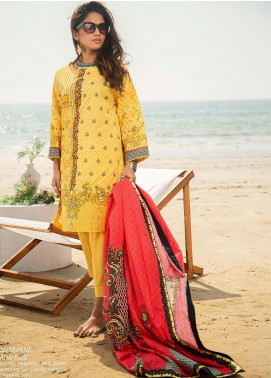 Ala Rasi Printed Lawn Unstitched 3 Piece Suits AR20L 28 SUNSHINE - Summer Collection
