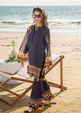 Ala Rasi Printed Lawn Unstitched 2 Piece Suits AR20L 34 MYSTIC - Summer Collection