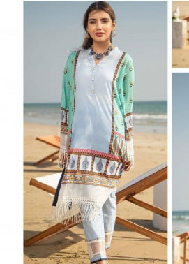 Ala Rasi Printed Lawn Unstitched 2 Piece Suits AR20L 36 EZRIK - Summer Collection