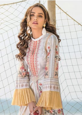 Allure by Mystique Embroidered Lawn Unstitched 3 Piece Suit MYS20A 01 - Spring / Summer Collection