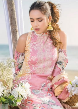 Allure by Mystique Embroidered Lawn Unstitched 3 Piece Suit MYS20A 07 - Spring / Summer Collection