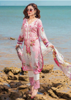 Alyssa by Banafsheh Embroidered Lawn Unstitched 3 Piece Suit BF20AL 1 - Summer Collection