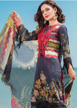 Alyssa by Banafsheh Embroidered Lawn Unstitched 3 Piece Suit BF20AL 3 - Summer Collection