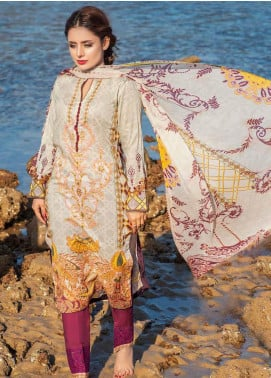 Alyssa by Banafsheh Embroidered Lawn Unstitched 3 Piece Suit BF20AL 4 - Summer Collection