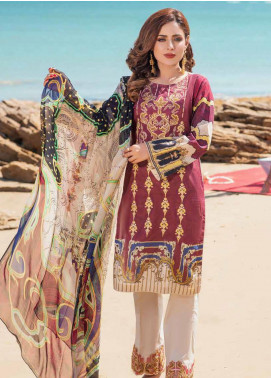 Alyssa by Banafsheh Embroidered Lawn Unstitched 3 Piece Suit BF20AL 5 - Summer Collection