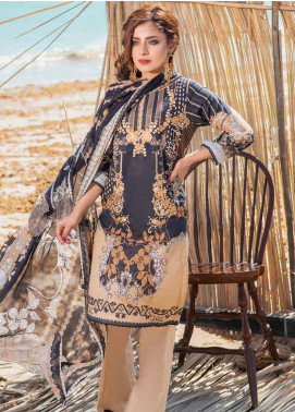Alyssa by Banafsheh Embroidered Lawn Unstitched 3 Piece Suit BF20AL 6 - Summer Collection