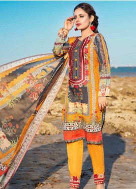 Alyssa by Banafsheh Embroidered Lawn Unstitched 3 Piece Suit BF20AL 9 - Summer Collection