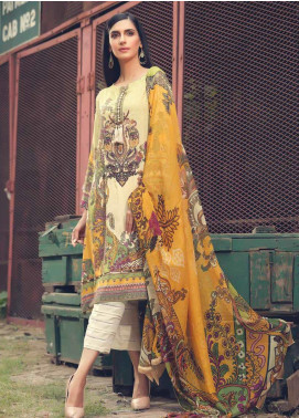 AMAL by Motifz Embroidered Linen Unstitched 3 Piece Suit AMT19L 2383-BOTANICA  - Winter Collection