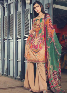 AMAL by Motifz Embroidered Linen Unstitched 3 Piece Suit AMT19L 2386-PSYCHEDELIA  - Winter Collection