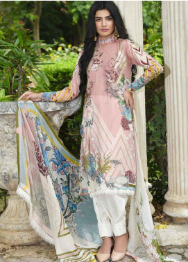Amal by Motifz Embroidered Lawn Unstitched 3 Piece Suit AMT19-F3 2309 MONOCHROME DREAM - Festive Collection