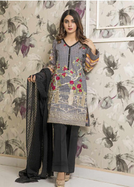 Amani by ZS Textile Embroidered Chikankari Unstitched 3 Piece Suit AZS19C 01B - Mid Summer Collection
