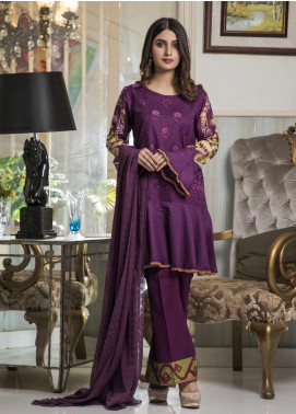 Amani by ZS Textile Embroidered Chikankari Unstitched 3 Piece Suit AZS19C 04A - Mid Summer Collection