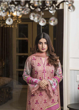 Amani by ZS Textile Embroidered Chikankari Unstitched 3 Piece Suit AZS19C 05A - Mid Summer Collection