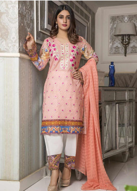 Amani by ZS Textile Embroidered Chikankari Unstitched 3 Piece Suit AZS19C 06B - Mid Summer Collection