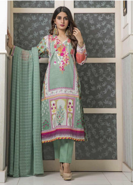 Amani by ZS Textile Embroidered Chikankari Unstitched 3 Piece Suit AZS19C 08B - Mid Summer Collection