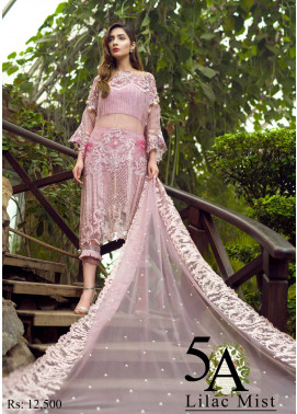 Asifa & Nabeel Embroidered Organza Unstitched 3 Piece Suit AN17C 05