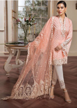 Anaya by Kiran Chaudhry Embroidered Lawn Unstitched 3 Piece Suit AKC19L 02 APHRODITE - Spring / Summer Collection