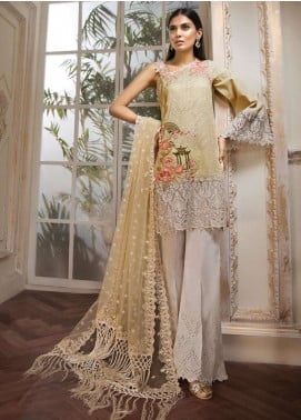 Anaya by Kiran Chaudhry Embroidered Lawn Unstitched 3 Piece Suit AKC19L 03 RHEA - Spring / Summer Collection