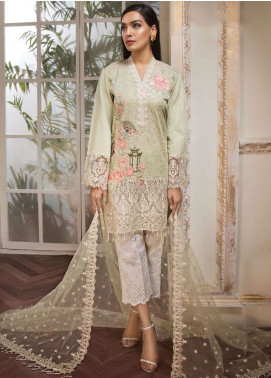 Anaya by Kiran Chaudhry Embroidered Lawn Unstitched 3 Piece Suit AKC19L 04 ARTEMIS - Spring / Summer Collection