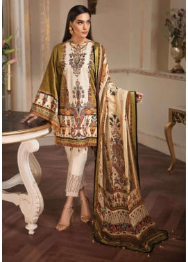 Anaya by Kiran Chaudhry Embroidered Lawn Unstitched 3 Piece Suit AKC19L 11 CLEO - Spring / Summer Collection