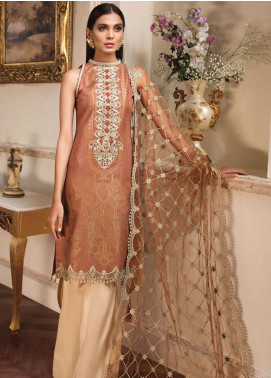 Anaya by Kiran Chaudhry Embroidered Lawn Unstitched 3 Piece Suit AKC19L 13 HERA - Spring / Summer Collection
