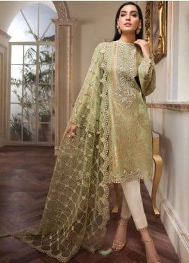 Anaya by Kiran Chaudhry Embroidered Lawn Unstitched 3 Piece Suit AKC19L 14 MAIA - Spring / Summer Collection