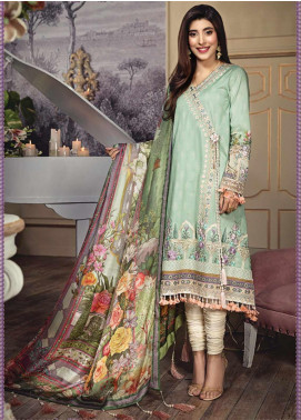 Anaya By Kiran Chaudhry Embroidered Lawn Unstitched 3 Piece Suit AKC20L 11 EVA - Luxury Collection