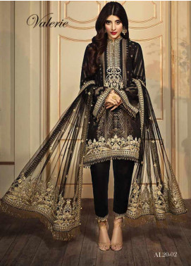Anaya By Kiran Chaudhry Embroidered Lawn Unstitched 3 Piece Suit AKC20L 02 VALERIE - Luxury Collection