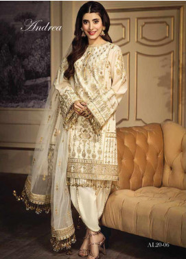 Anaya By Kiran Chaudhry Embroidered Lawn Unstitched 3 Piece Suit AKC20L 06 ANDREA - Luxury Collection