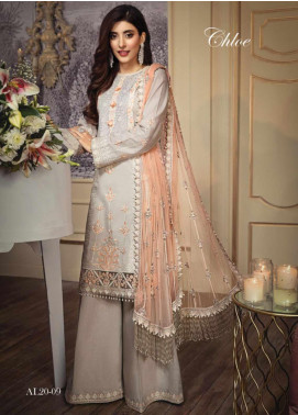 Anaya By Kiran Chaudhry Embroidered Lawn Unstitched 3 Piece Suit AKC20L 09 CHLOE - Luxury Collection