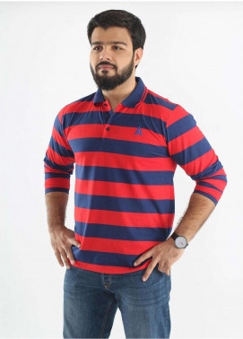 Anchor Jersey Polo Men T-Shirts - Multi A-214