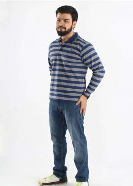 Anchor Jersey Polo Men T-Shirts - Multi A-217
