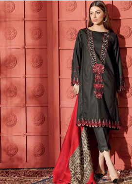 Aniq by Charizma Embroidered Marina Unstitched 3 Piece Suit CRZ20AL ANW-03 - Festive Collection