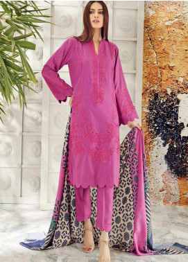 Aniq by Charizma Embroidered Marina Unstitched 3 Piece Suit CRZ20AL ANW-04 - Festive Collection