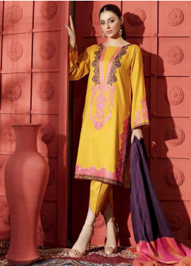 Aniq by Charizma Embroidered Marina Unstitched 3 Piece Suit CRZ20AL ANW-05 - Festive Collection