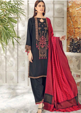 Aniq by Charizma Embroidered Leather Unstitched 3 Piece Suit CRZ20AL ANW-06 - Festive Collection